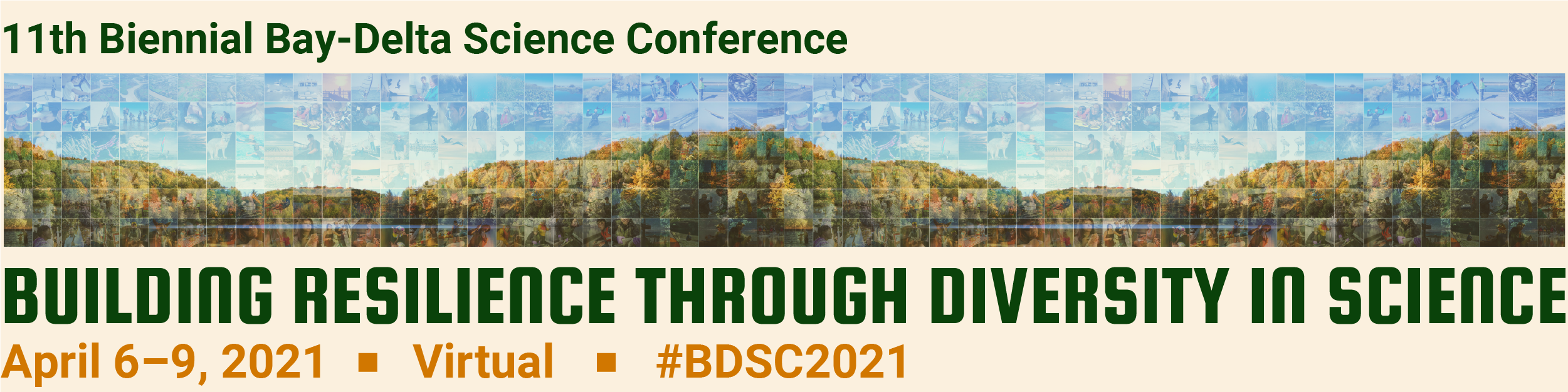 2021 Bay-Delta Science Conference.